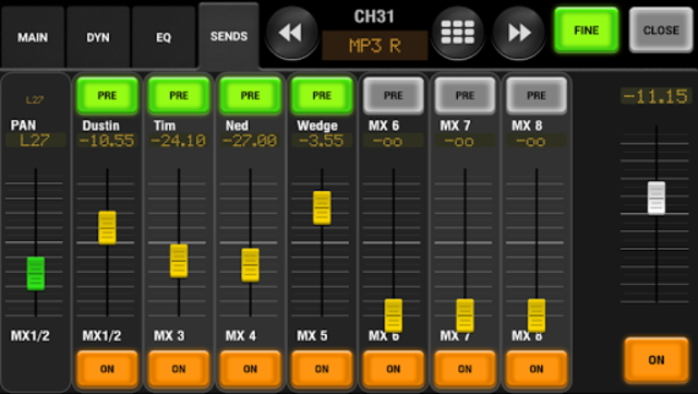 AirFader M7CL Pro screenshot 5