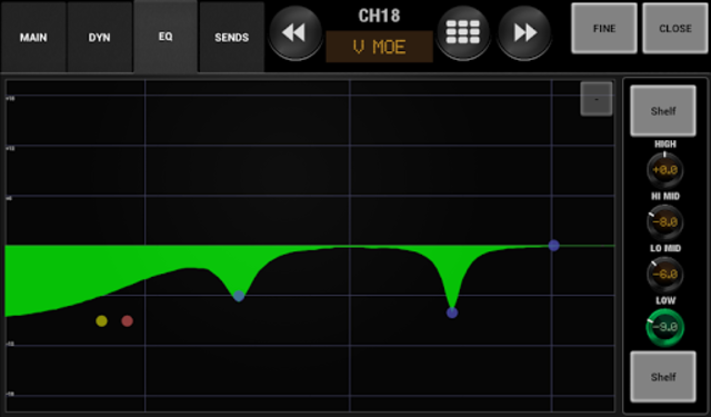 AirFader M7CL Pro screenshot 9