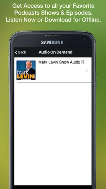 Mark Levin Show screenshot 3