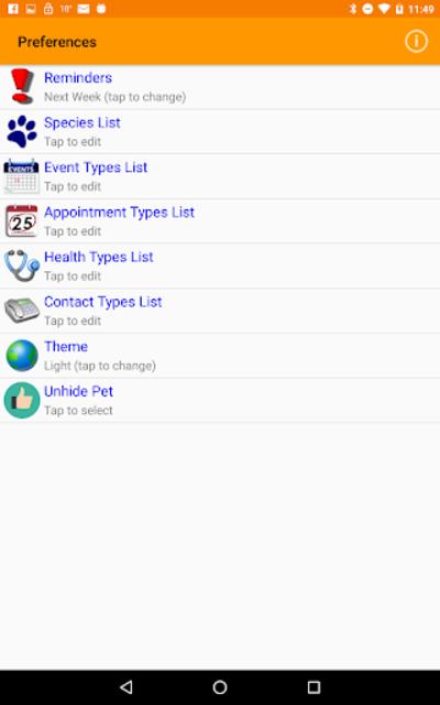 myPets - Pet Manager screenshot 22