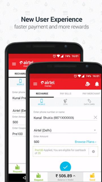 Airtel Money - Recharge & Pay screenshot 4