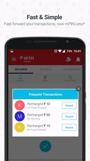Airtel Money - Recharge & Pay screenshot 5
