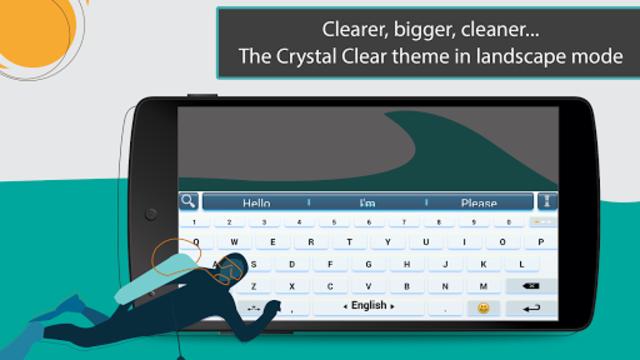 ai.type Crystal Clear Keyboard screenshot 5