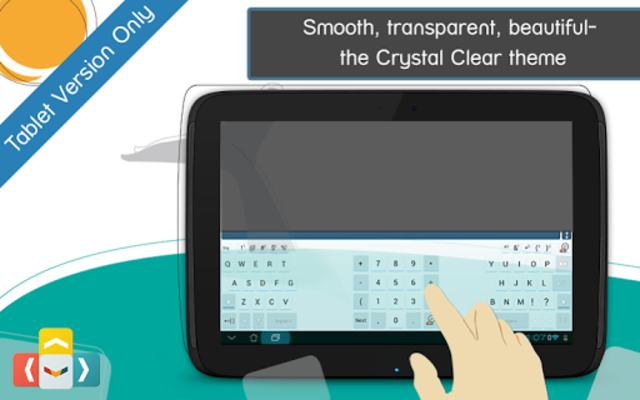 ai.type Crystal Clear Keyboard screenshot 7