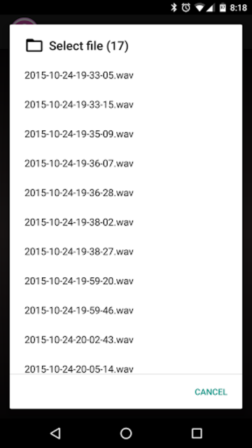 Auto Recorder PRO screenshot 5
