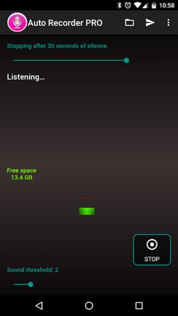 Auto Recorder PRO screenshot 8