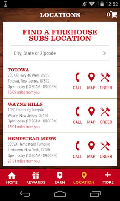 Firehouse Subs App screenshot 4