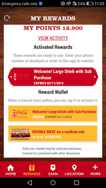 Firehouse Subs App screenshot 3