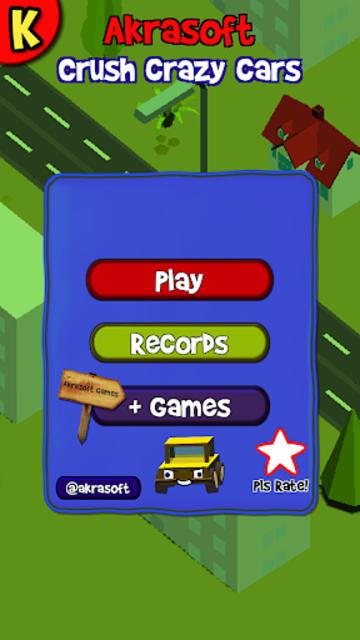 Crush Crazy Cars, car smasher for free screenshot 1