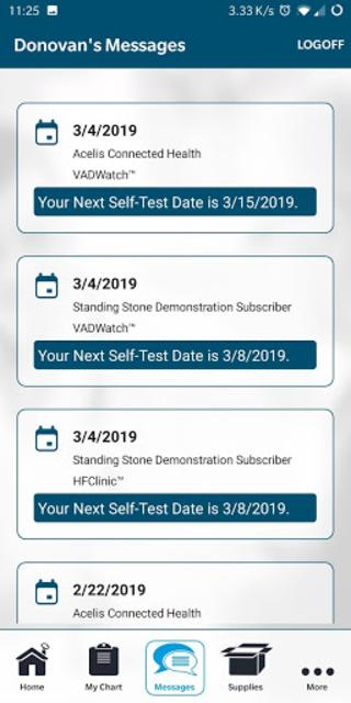 ACH HealthCheck screenshot 4