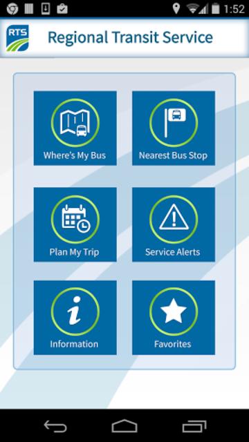 RTS Bus App screenshot 1