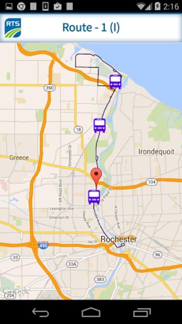 RTS Bus App screenshot 3