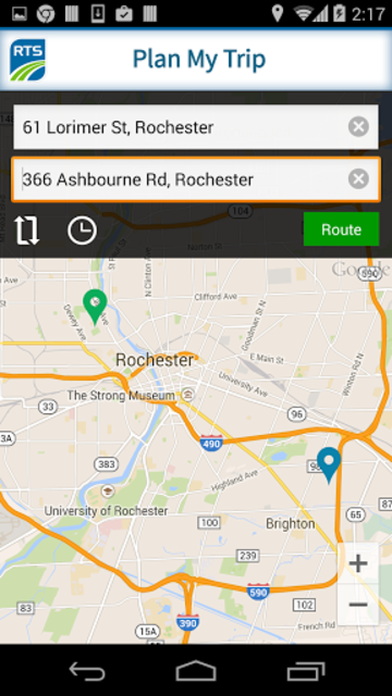 RTS Bus App screenshot 4