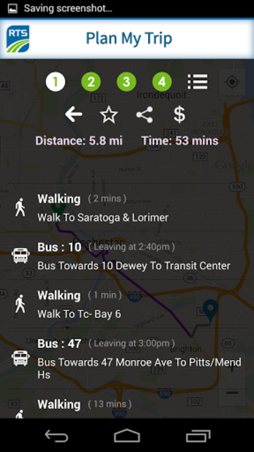 RTS Bus App screenshot 6
