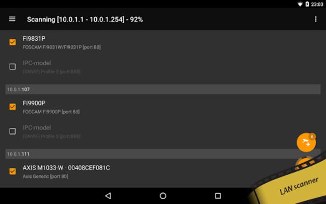 tinyCam PRO - Swiss knife to monitor IP cam screenshot 20
