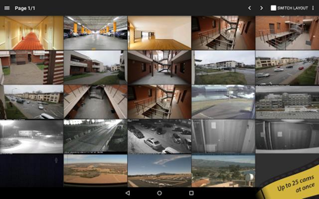 tinyCam PRO - Swiss knife to monitor IP cam screenshot 1