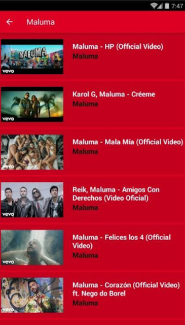 Maluma - Qué Pena screenshot 3