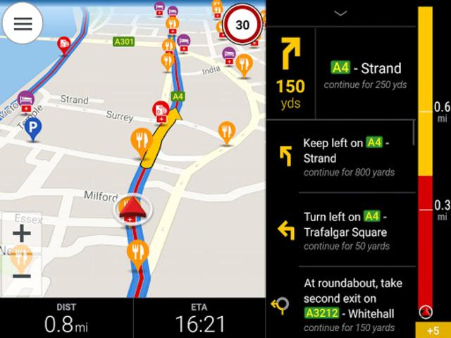 CoPilot Europe Navigation screenshot 8