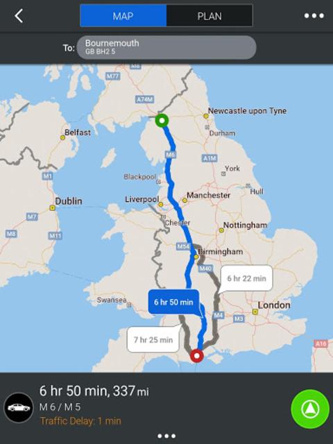 CoPilot Europe Navigation screenshot 9