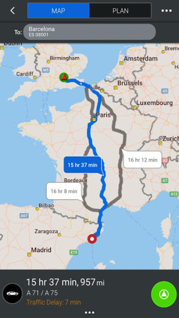 CoPilot Europe Navigation screenshot 18