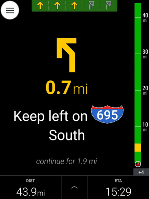 CoPilot Truck USA & CAN - GPS screenshot 13