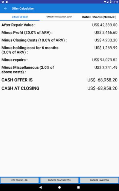 REI Estimator Pro for Investors screenshot 15
