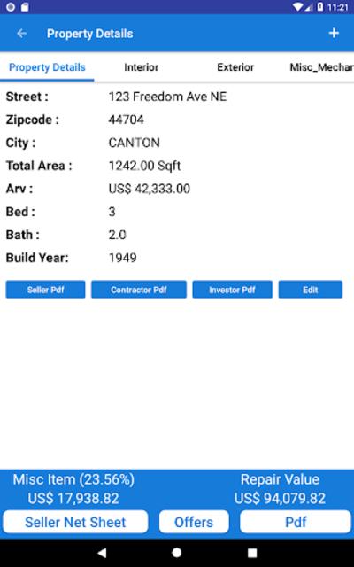 REI Estimator Pro for Investors screenshot 20