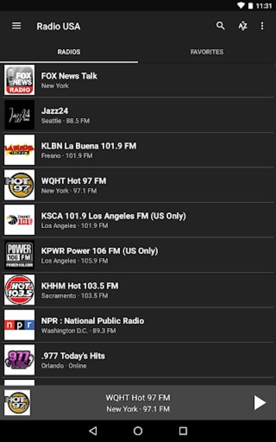 Radio USA screenshot 14