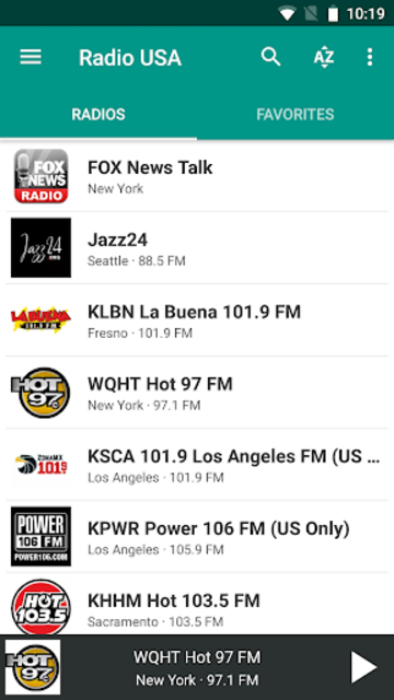 Radio USA FM screenshot 1