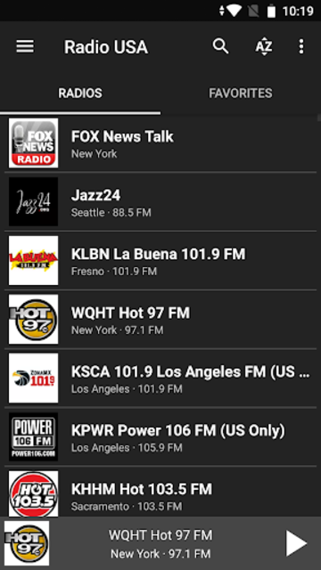 Radio USA FM screenshot 4