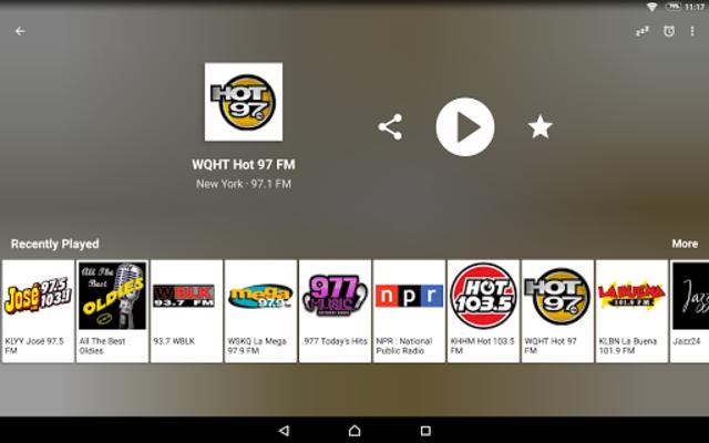 Radio USA FM screenshot 9