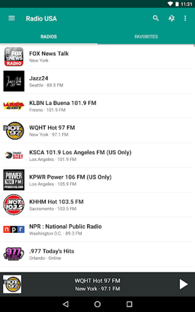 Radio USA FM screenshot 11