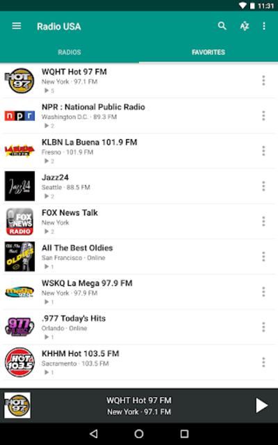 Radio USA FM screenshot 14