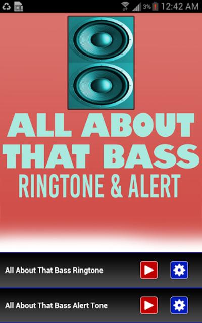 All About That Bass Ringtone screenshot 1