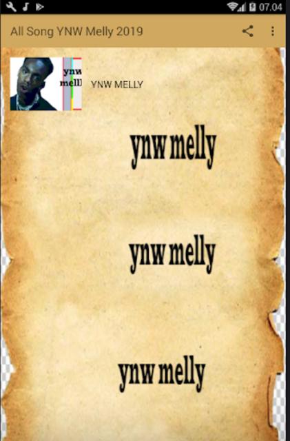 ALL SONG YNW MELLY 2019 screenshot 1