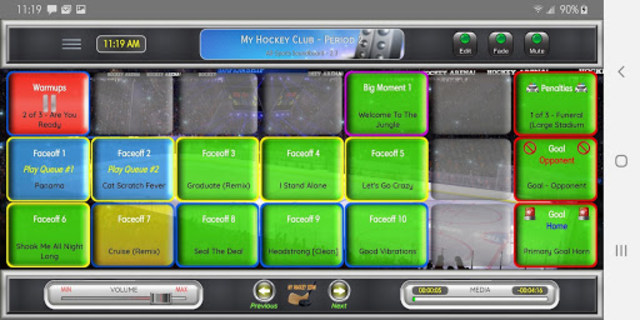 All-Sports Soundboard screenshot 1