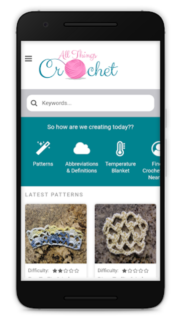 All Things Crochet screenshot 1