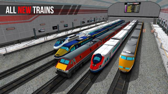 Egypt Train Simulator Games : Train Games screenshot 1