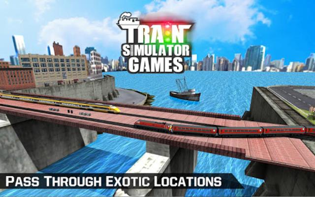 Egypt Train Simulator Games : Train Games screenshot 6