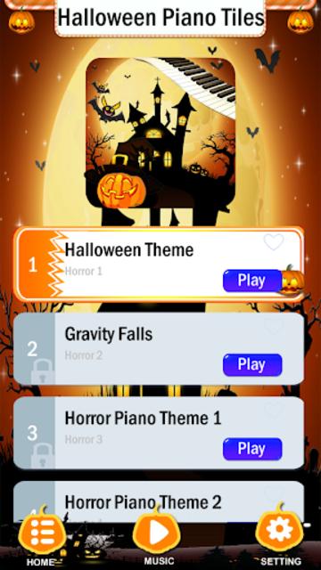 Halloween Piano Tiles screenshot 1