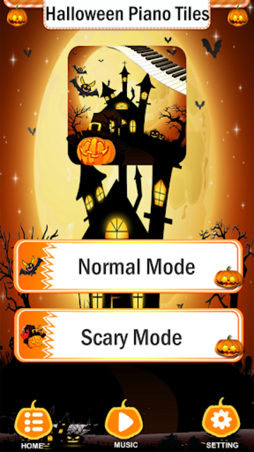 Halloween Piano Tiles screenshot 2