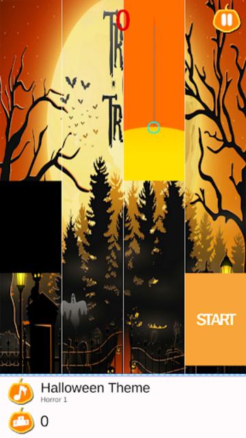 Halloween Piano Tiles screenshot 3