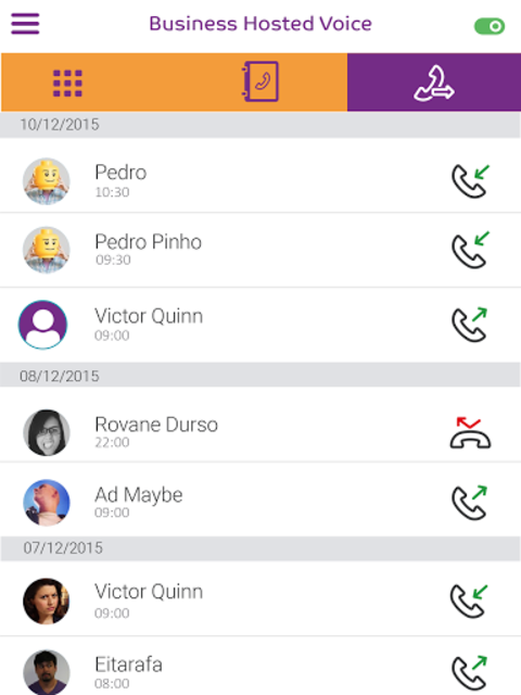 Business Hosted Voice - Altice screenshot 5