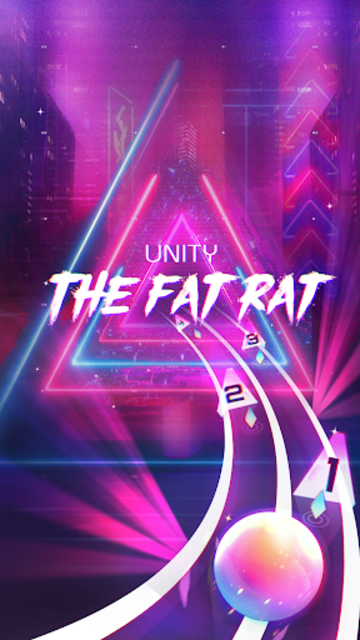 Infinity Run: Rush Balls On Rhythm Roller Coaster screenshot 1