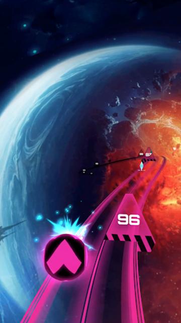 Infinity Run: Rush Balls On Rhythm Roller Coaster screenshot 3