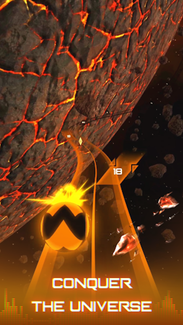 Infinity Run: Rush Balls On Rhythm Roller Coaster screenshot 5