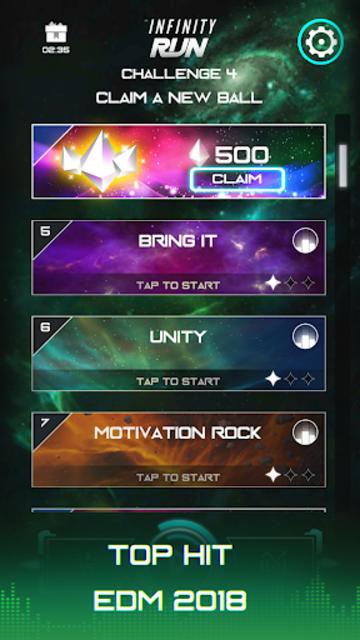 Infinity Run: Rush Balls On Rhythm Roller Coaster screenshot 6