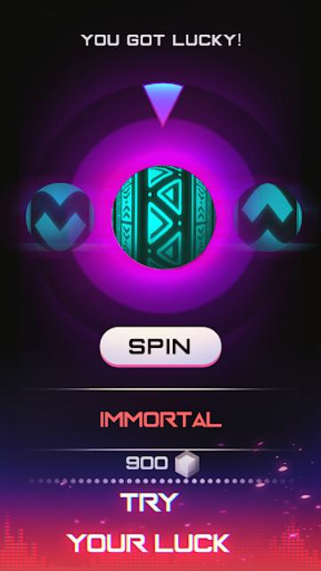 Infinity Run: Rush Balls On Rhythm Roller Coaster screenshot 7