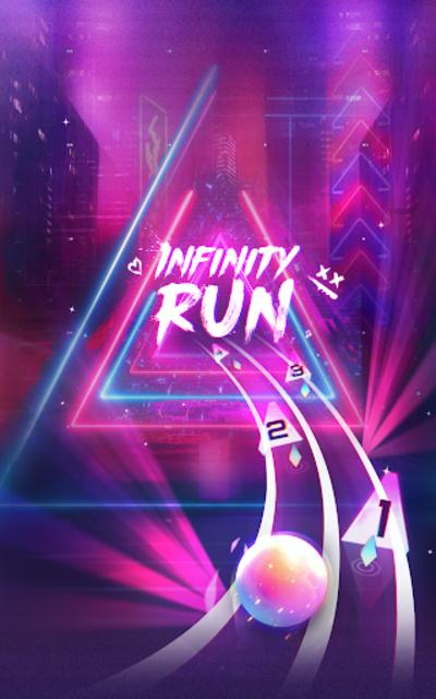 Infinity Run: Rush Balls On Rhythm Roller Coaster screenshot 9
