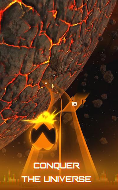 Infinity Run: Rush Balls On Rhythm Roller Coaster screenshot 13